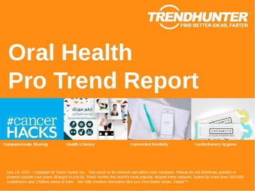 Oral Health Trend Report and Oral Health Market Research