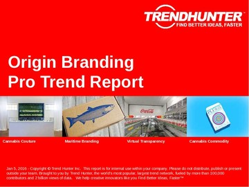 Origin Branding Trend Report and Origin Branding Market Research