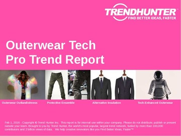 Outerwear Tech Trend Report and Outerwear Tech Market Research