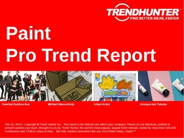 Paint Trend Report and Paint Market Research