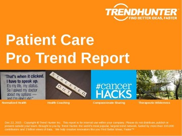 Patient Care Trend Report and Patient Care Market Research