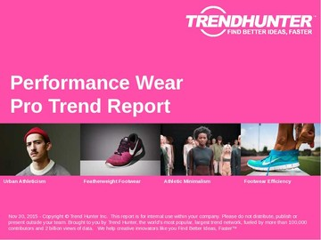 Performance Wear Trend Report and Performance Wear Market Research