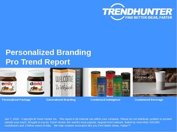 Personalized Branding Trend Report and Personalized Branding Market Research