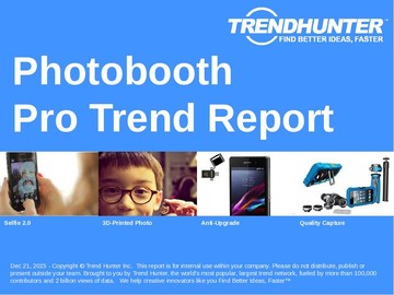 Photobooth Trend Report and Photobooth Market Research