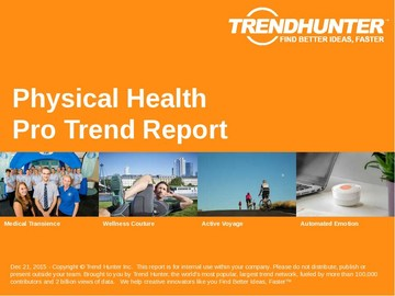 Physical Health Trend Report and Physical Health Market Research