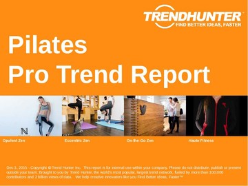 Pilates Trend Report and Pilates Market Research