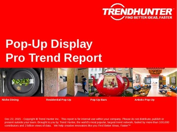 Pop-Up Display Trend Report and Pop-Up Display Market Research