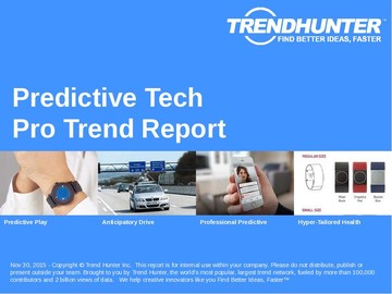 Predictive Tech Trend Report and Predictive Tech Market Research