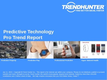 Predictive Technology Trend Report and Predictive Technology Market Research