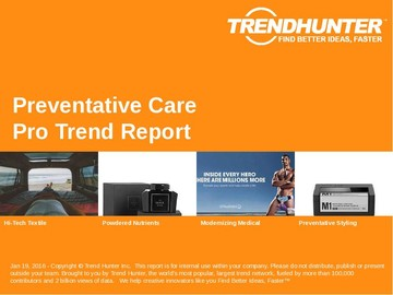 Preventative Care Trend Report and Preventative Care Market Research