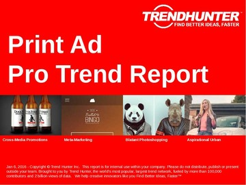 Print Ad Trend Report and Print Ad Market Research