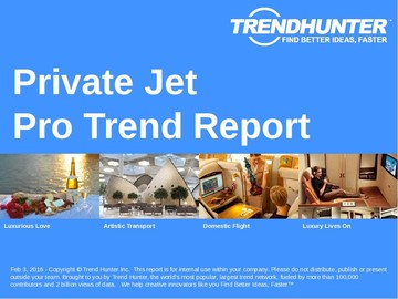 Private Jet Trend Report and Private Jet Market Research