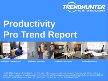 Productivity Trend Report and Productivity Market Research
