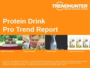 Protein Drink Trend Report and Protein Drink Market Research