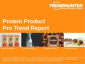 Protein Product Trend Report and Protein Product Market Research