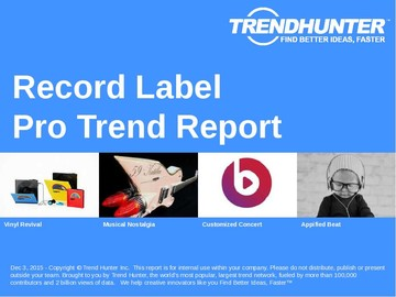Record Label Trend Report and Record Label Market Research