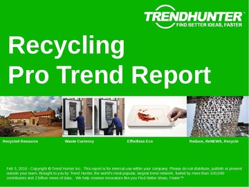 Recycling Trend Report and Recycling Market Research