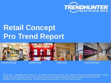 Retail Concept Trend Report and Retail Concept Market Research