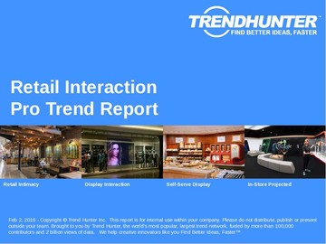 Retail Interaction Trend Report and Retail Interaction Market Research