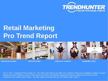 Retail Marketing Trend Report and Retail Marketing Market Research