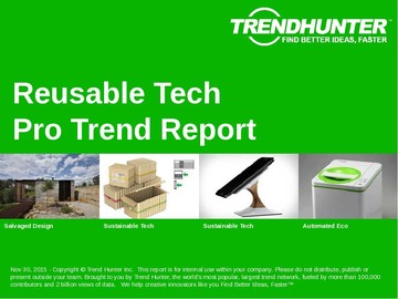 Reusable Tech Trend Report and Reusable Tech Market Research