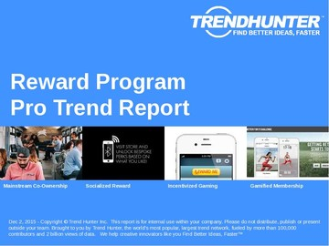 Reward Program Trend Report and Reward Program Market Research