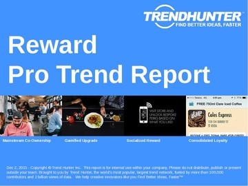 Reward Trend Report and Reward Market Research