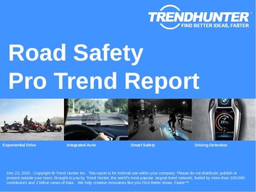 Road Safety Trend Report and Road Safety Market Research