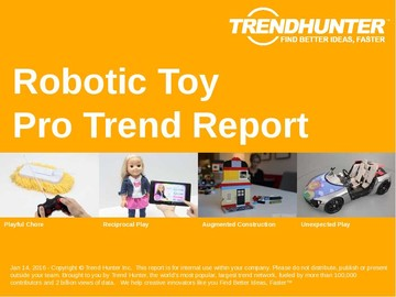 Robotic Toy Trend Report and Robotic Toy Market Research
