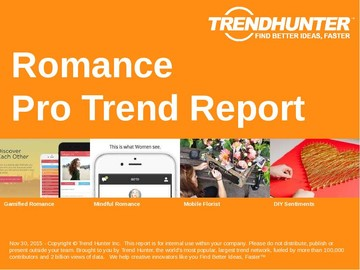 Romance Trend Report and Romance Market Research