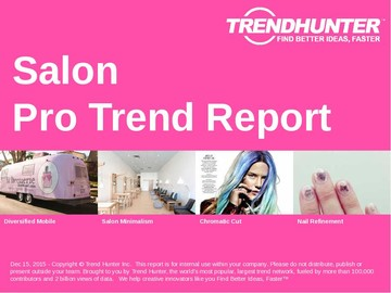 Salon Trend Report and Salon Market Research