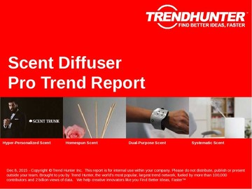 Scent Diffuser Trend Report and Scent Diffuser Market Research