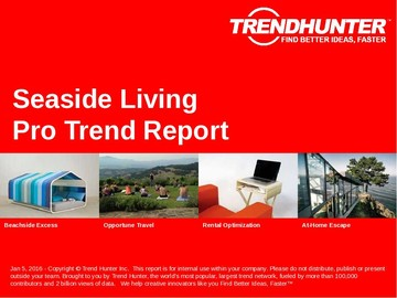 Seaside Living Trend Report and Seaside Living Market Research