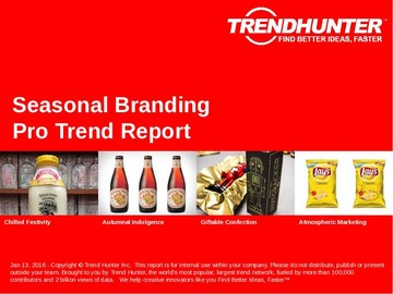 Seasonal Branding Trend Report and Seasonal Branding Market Research