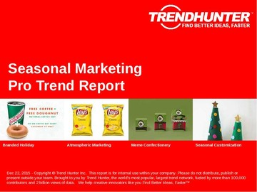 Seasonal Marketing Trend Report and Seasonal Marketing Market Research