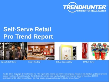 Self-Serve Retail Trend Report and Self-Serve Retail Market Research