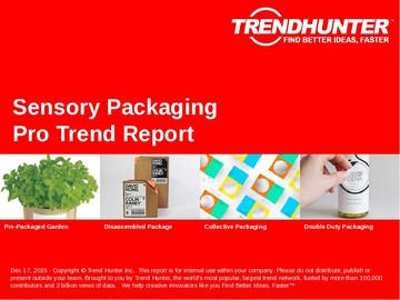 Sensory Packaging Trend Report and Sensory Packaging Market Research