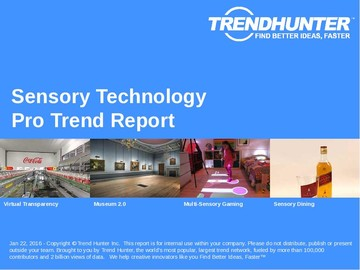 Sensory Technology Trend Report and Sensory Technology Market Research