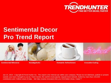Sentimental Decor Trend Report and Sentimental Decor Market Research