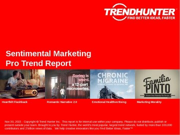 Sentimental Marketing Trend Report and Sentimental Marketing Market Research