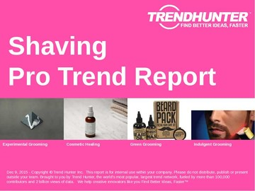 Shaving Trend Report and Shaving Market Research