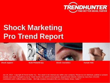 Shock Marketing Trend Report and Shock Marketing Market Research