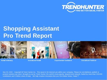 Shopping Assistant Trend Report and Shopping Assistant Market Research