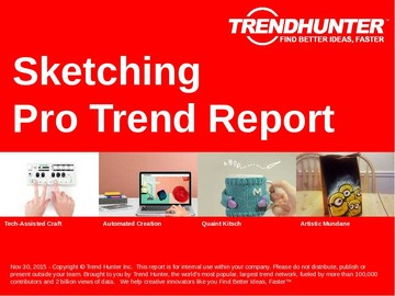 Sketching Trend Report and Sketching Market Research