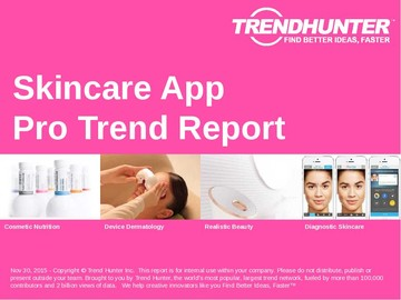 Skincare App Trend Report and Skincare App Market Research