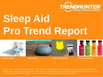 Sleep Aid Trend Report and Sleep Aid Market Research