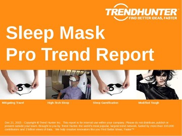 Sleep Mask Trend Report and Sleep Mask Market Research