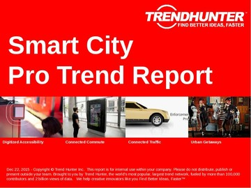 Smart City Trend Report and Smart City Market Research