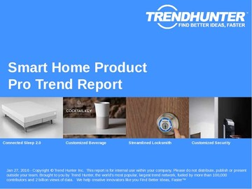 Smart Home Product Trend Report and Smart Home Product Market Research