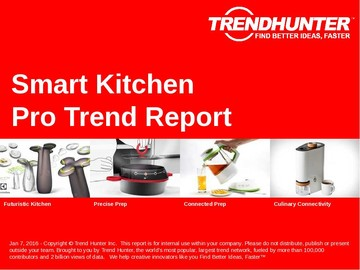 Smart Kitchen Trend Report and Smart Kitchen Market Research